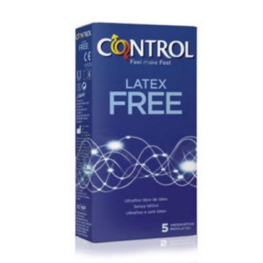 CONTROL LATEX FREE - Cx 5 Preservativos