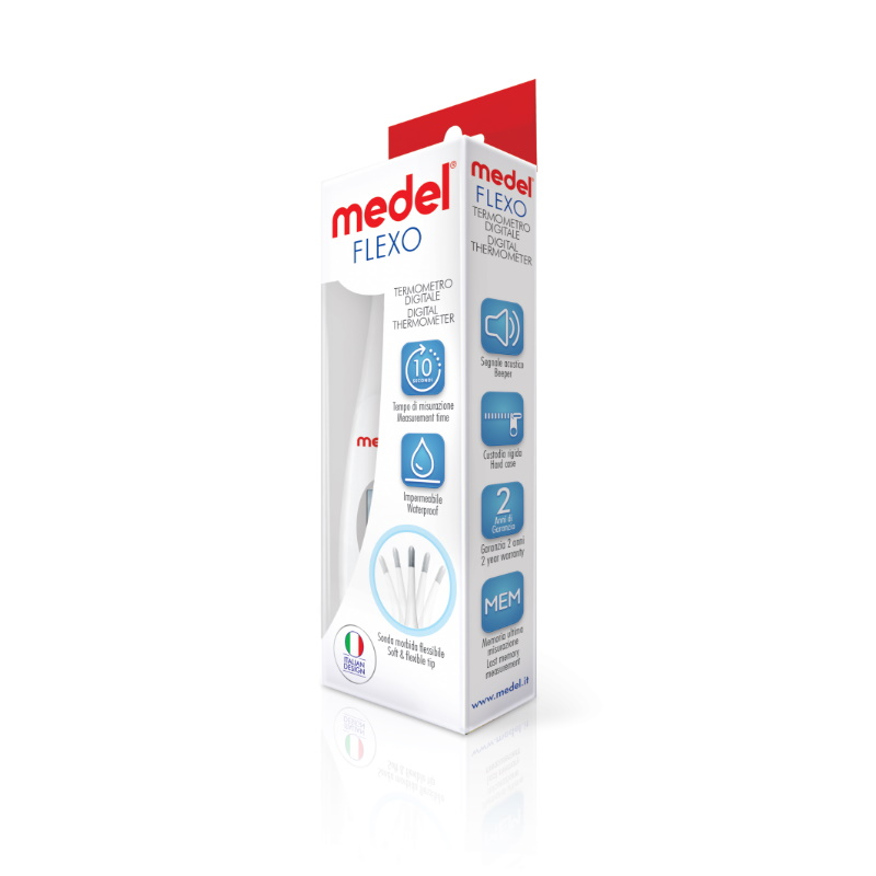 Medel Flexo - Termómetro Digital