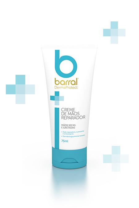 Barral - Creme Reparador Mãos, 75ml