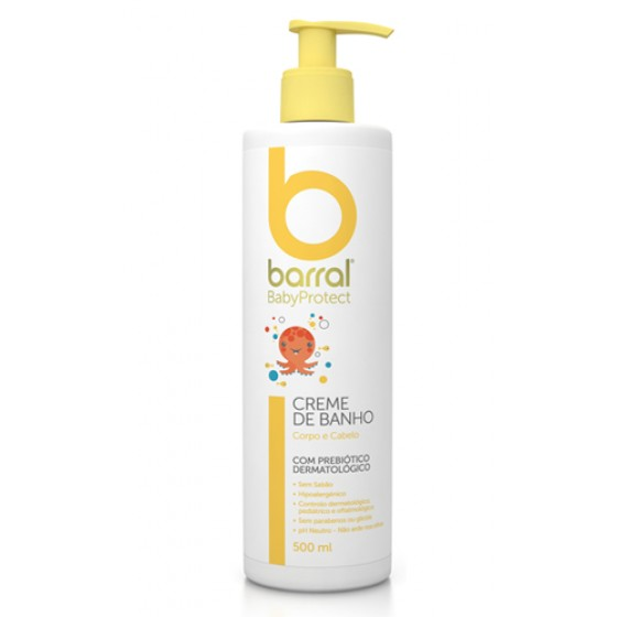 Barral - Creme Banho, 500ml