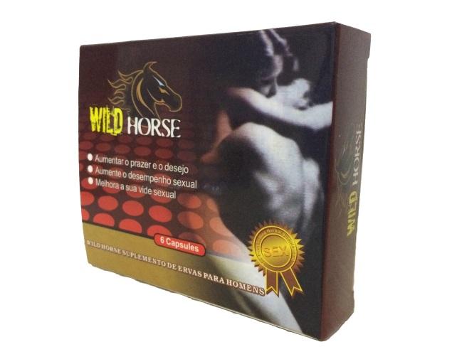 Wild Horse 4500mg, Cx 6Caps