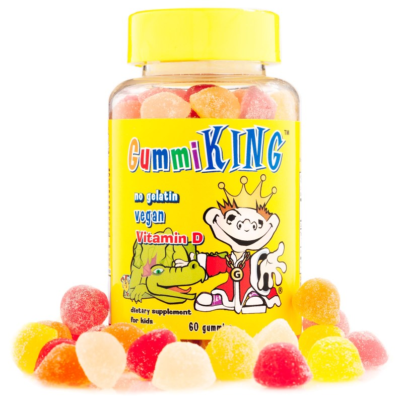 Gummi King: Vitamin D, 60 Gummies