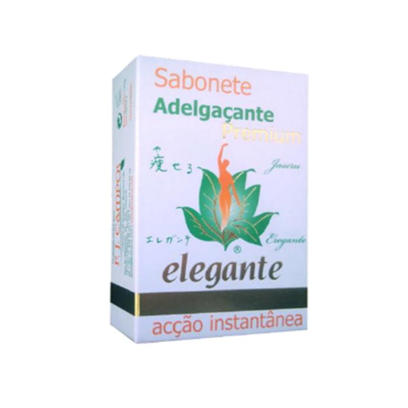 Elegante Sabonete Adelgaçante, 140Gr