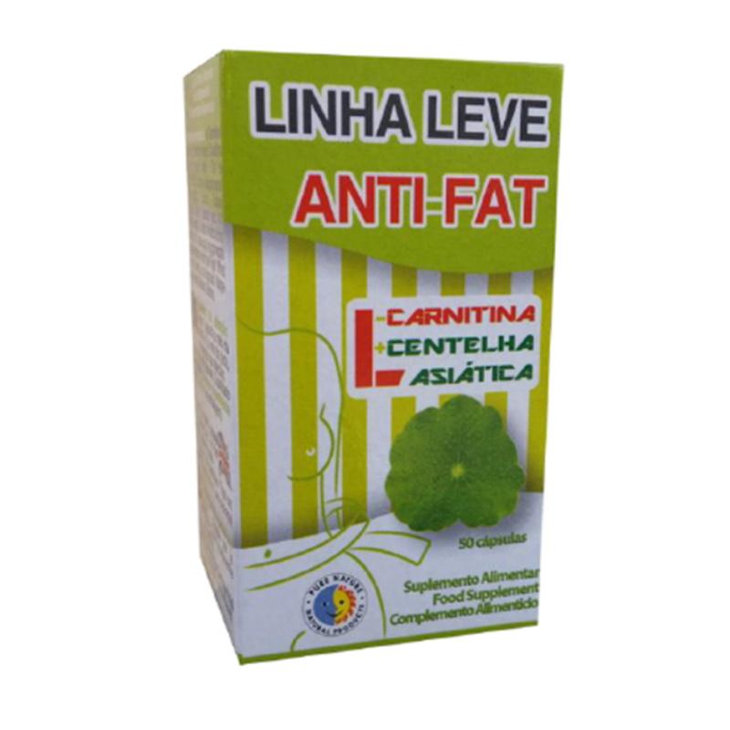 Linha Leve Anti-Fat, Cx 50 Comp.