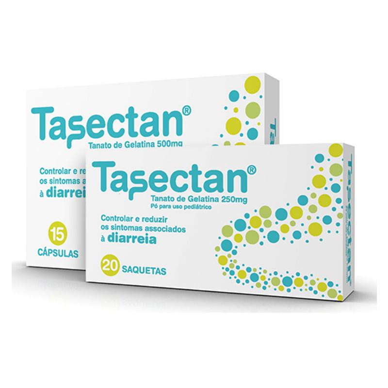 Tasectan 250mg, Cx 20 Saquetas