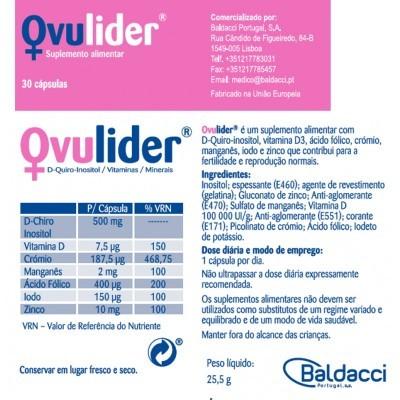 Ovulider®, Cx 30 Cápsulas