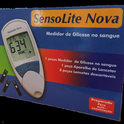 Glucómetro SensoLite Nova