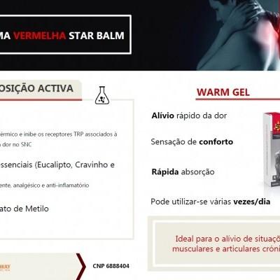 STAR BALM® WARM GEL, 100ml