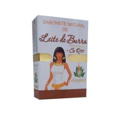 Elegante Premium Sabonete Leite de Burra+CoQ10