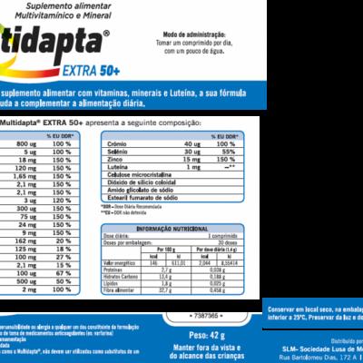 Multidapta ®Extra 50+, Cx 30 Comp.