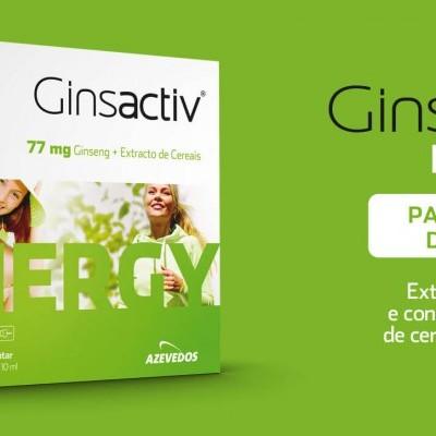 Ginsactiv Energy 77mg, Cx 20 Amp