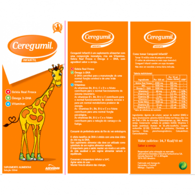 Ceregumil® Pediátrico, Fr 250ml
