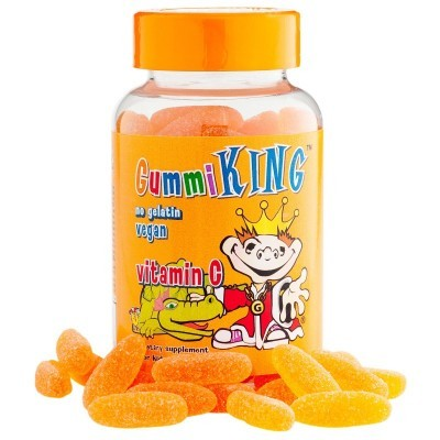 Gummi King: Vitamin C for Kids, Natural Orange Flavor, 60 Gummies