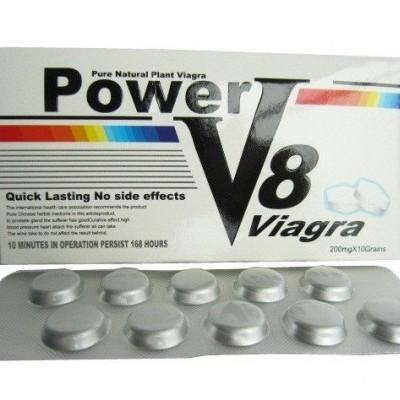 Power V8 Viagra 200mg, Cx 10Comp