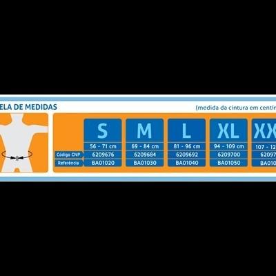 Q.HEALTH® - CINTA SACROLOMBAR C/REFORÇO