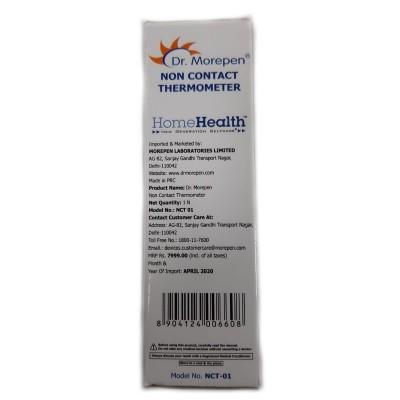 Termómetro Infravermelhos Não-Contacto, Dr. Morepen® NCT-01