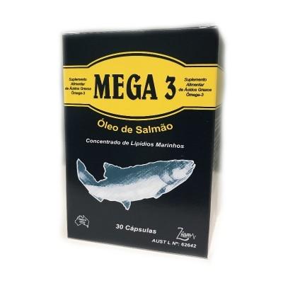 Mega 3 Óleo de Salmão, 30 Cápsulas