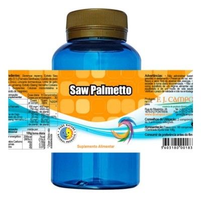 Saw Palmetto, Frs 180 Comp.