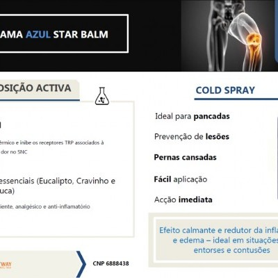 STAR BALM® COLD SPRAY, 150ml