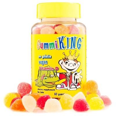 Gummi King: Vitamin D, 60 Gummies