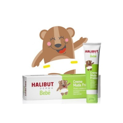 HALIBUT® Derma Creme Muda Fraldas, 150mg
