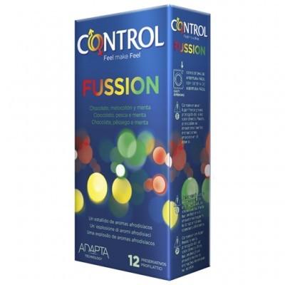 CONTROL FUSSION - Cx 12 Preservativos