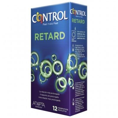 CONTROL RETARD - Cx 12 Preservativos