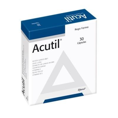 Acutil®, Cx 30 Cápsulas