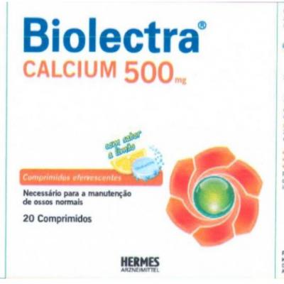 Biolectra® Calcium 500, 20 Comp. Eferv.