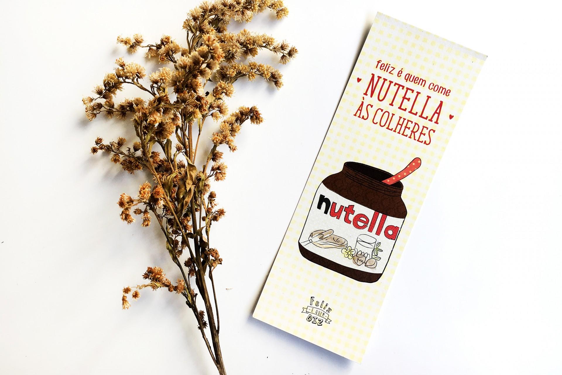 Marcador . Nutella