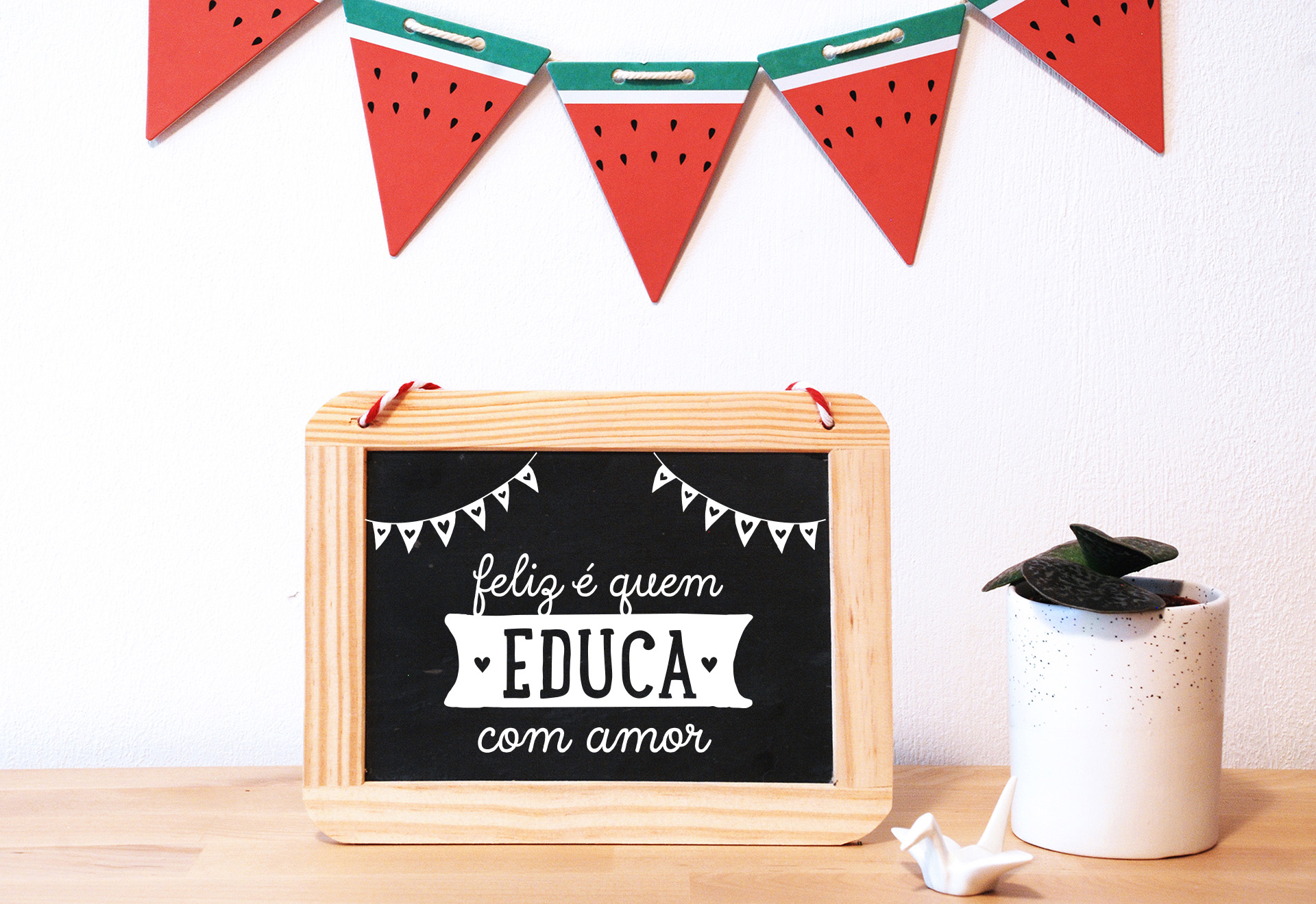 Ardósia . Educa com amor