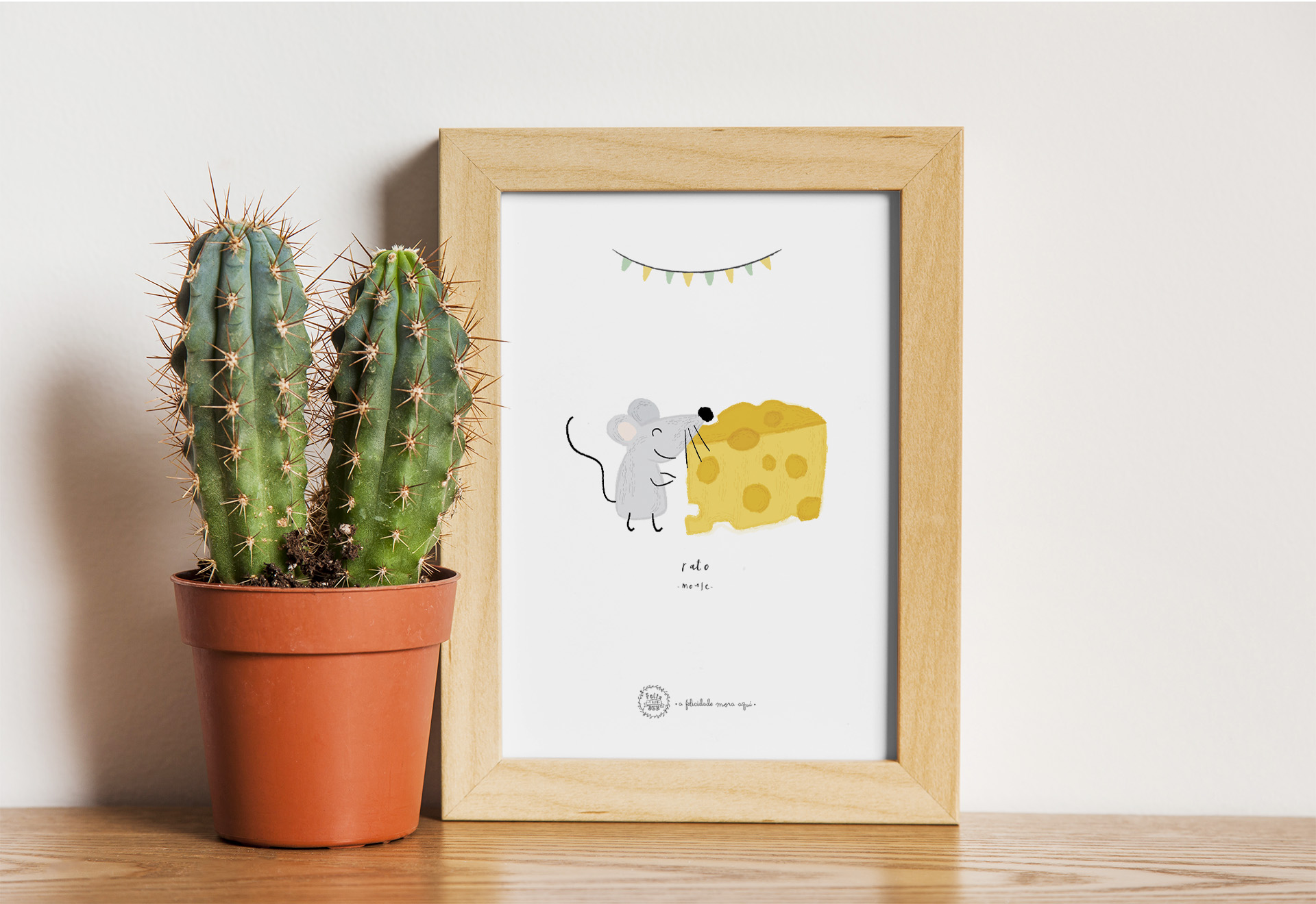 Art print . Rato