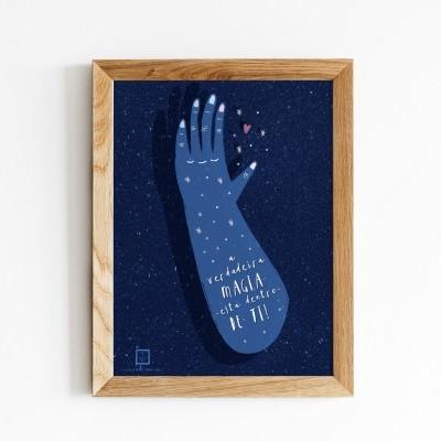 Art print . Magia