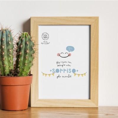 Art print . Sorriso