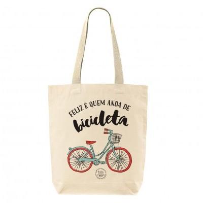 Saco de pano . Bicicleta