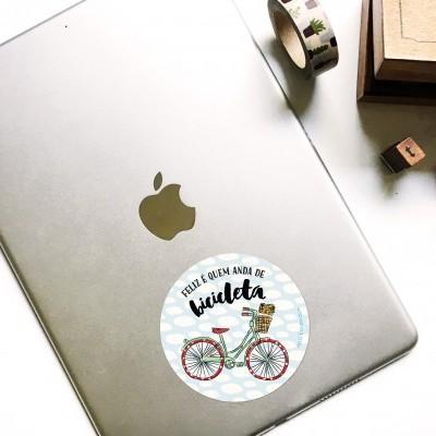 Autocolante . Bicicleta