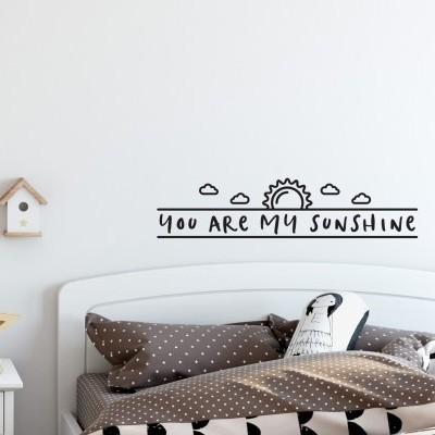 Vinil de parede . Sunshine
