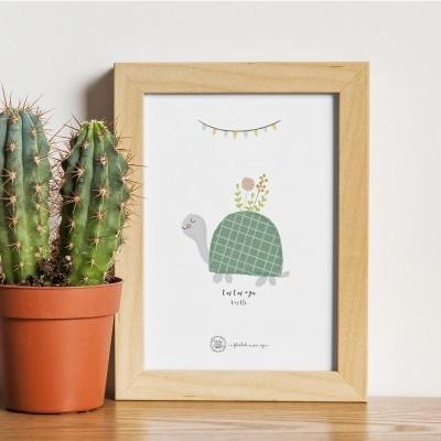 Art print . Tartaruga