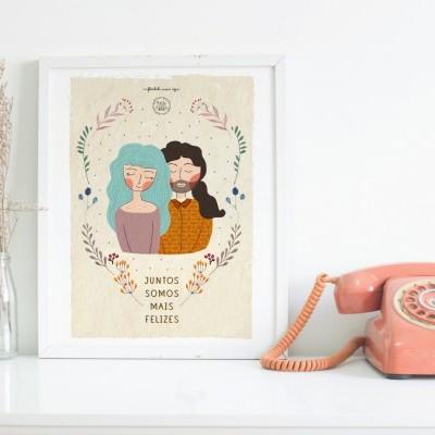 Ilustrações personalizadas