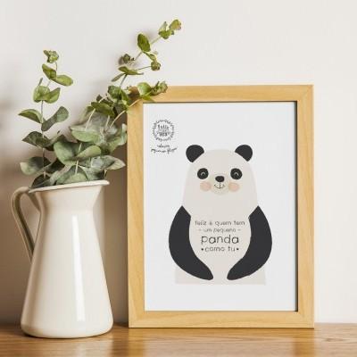 Art print . Panda