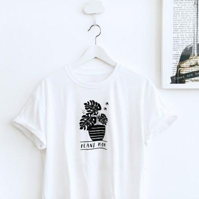 T-shirt . Plant mom