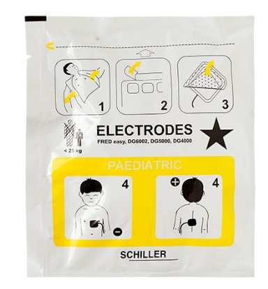 Eléctrodos Pediátricos Schiller FRED Easy