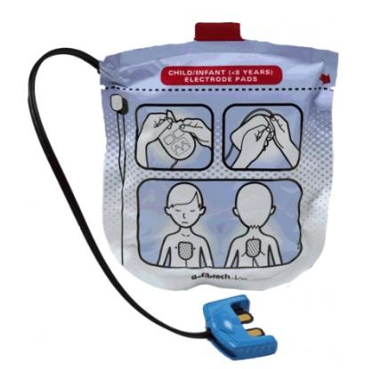 Eléctrodos Pediátricos Defibtech Lifeline View