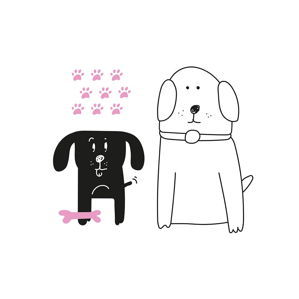 Dupla de cães