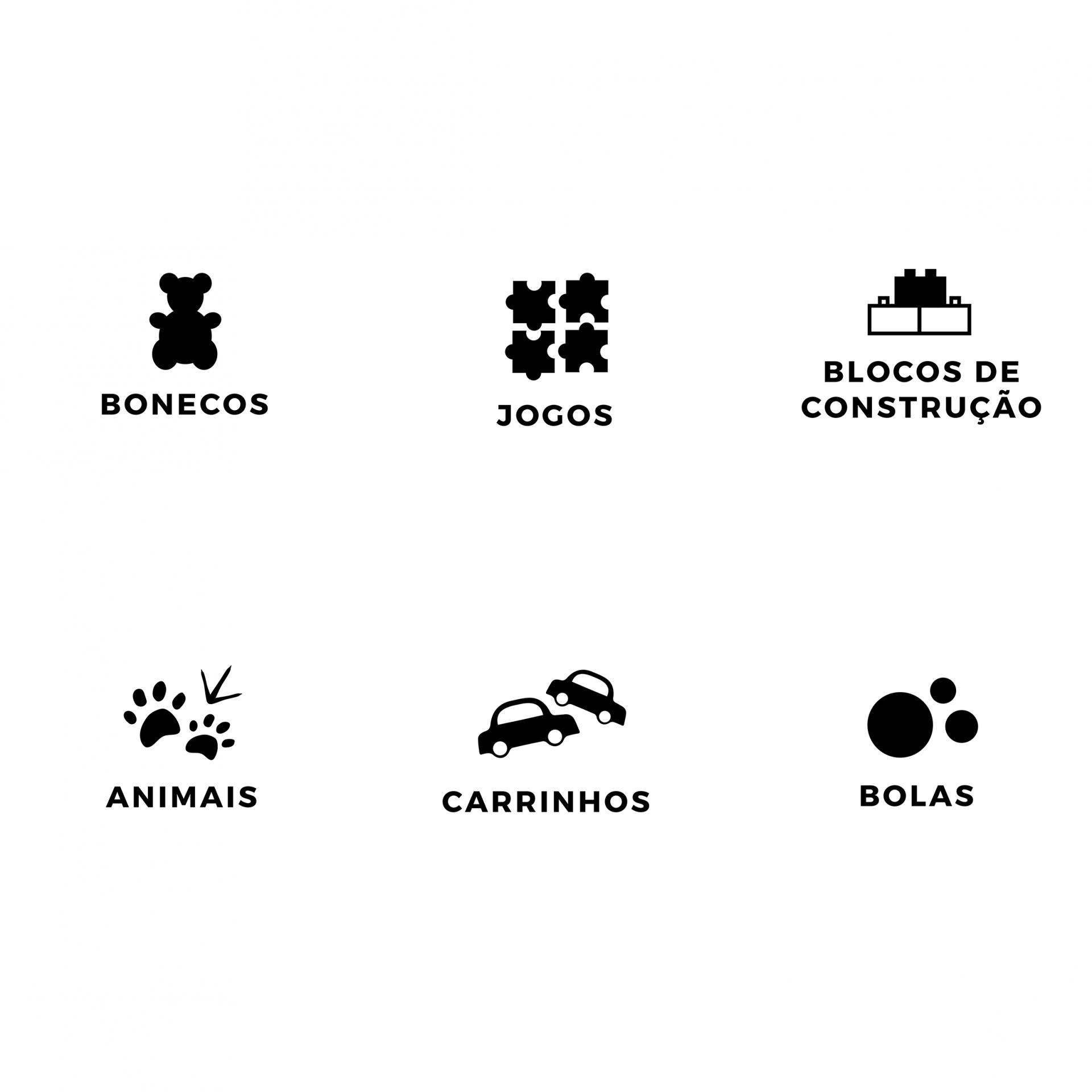 Kit completo de etiquetas