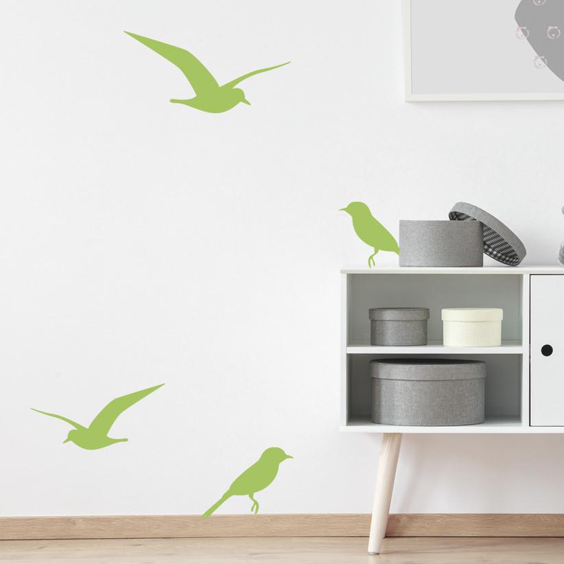 Os 4 pássaros