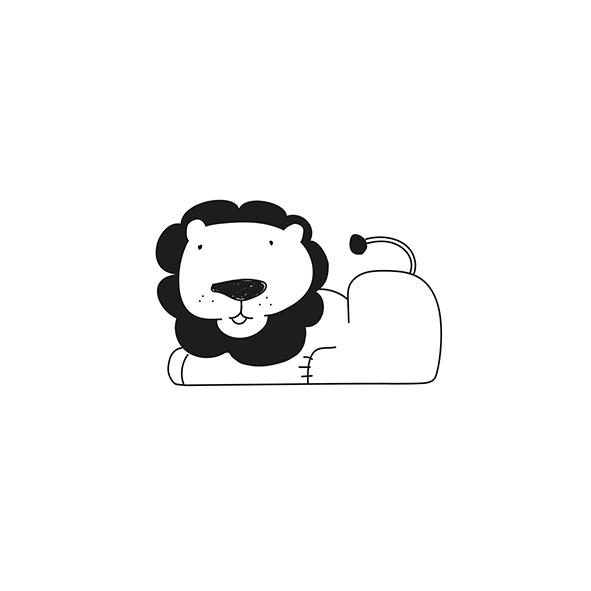 Leão deitado