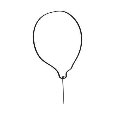 Balão branco pirata