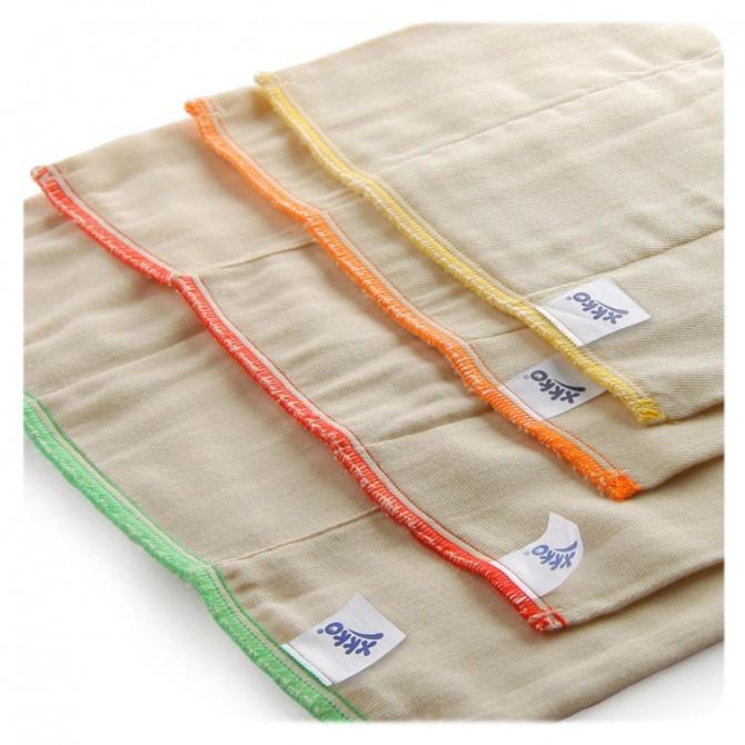 Fralda Pré-dobrada de algodão - Pack de 6