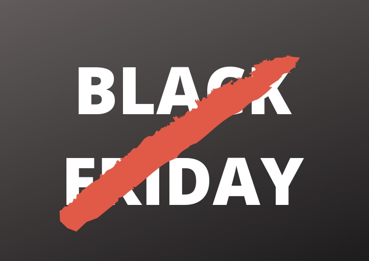 Black Friday - NÃO!